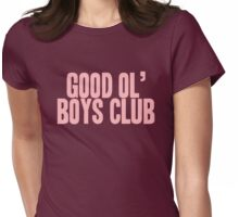 Pageant Material: Good Ol' Boys Club [Song Title] Womens Fitted T-Shirt