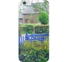 Beyond the Blue Fence iPhone Case/Skin