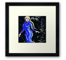Elsa Fantasy  Framed Print