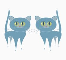 A PAIR OF PURRING CATS Baby Tee