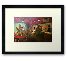 Queen of the Silver Dollar Framed Print