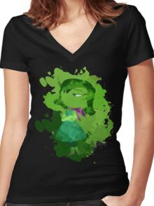 Disgust Women's Fitted V-Neck T-Shirt