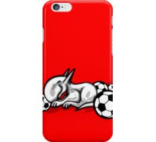 English Bull Terrier Pest iPhone Case/Skin