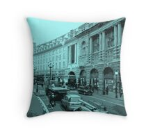 Busy Picaddilly Throw Pillow