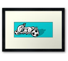 English Bull Terrier Pest Framed Print