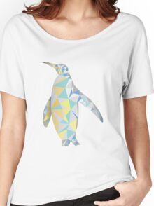 Polygonal Penguin Women's Relaxed Fit T-Shirt