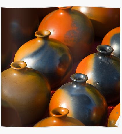 Indian Earthen Pottery#1 Poster