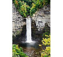 Taughannock Falls View From the Top Photographic Print