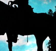 The Horseman Sticker