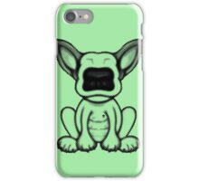 Black Dot English Bull Terrier Puppy Design iPhone Case/Skin