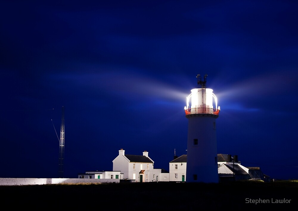 Loop head Lighthouse, Co Clare, Ireland by Stephen Lawlor