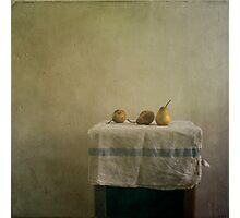 pears still life Photographic Print