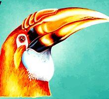 Papua New Guinea Kokomo Bird Print by Go-Postal