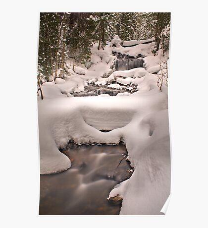 Wagner Falls Frozen 3 Poster
