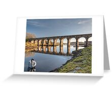 Ballydehob West Cork Ireland Railway Greeting Card