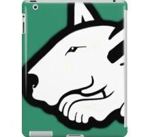 English Bull Terrier Planning Trouble iPad Case/Skin