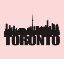 Toronto Skyline black One Piece - Long Sleeve