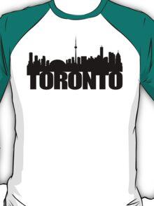 Toronto Skyline black T-Shirt