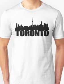 Toronto Skyline black T-Shirt