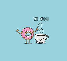 GOOD MORNING BESTIE! by Claudia Ramos