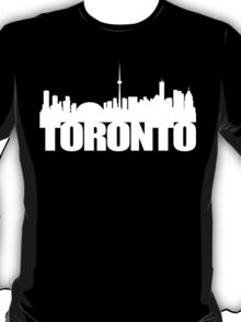 Toronto Skyline white T-Shirt