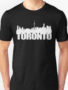 Toronto Skyline white T-Shirt