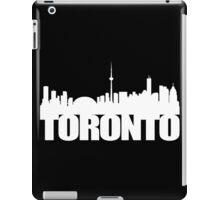 Toronto Skyline white iPad Case/Skin