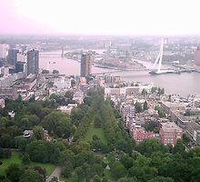 kijkje op Rotterdam ( vanuit euromast ) by Dickk