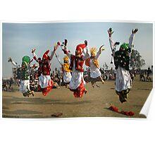 BHANGRA, A PUNJABI FOLK DANCE Poster