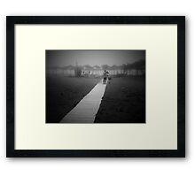 His path Framed Print