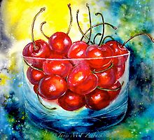 Life is Just a Bowl of Cherries by ©Janis Zroback