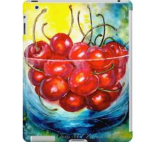 Cherries....Life is Just a Bowl of Cherries iPad Case/Skin