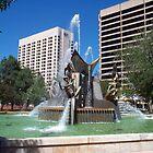 Victoria Square Fountain by Lucinda Walter