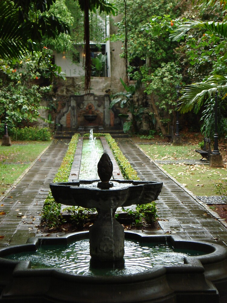 Secret Garden of Old San Juan by sullivan59