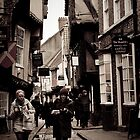 York Shambles - Historic Roman Street by samsimpson