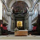 Altar of the Santa Maria Assunta - Palermo Cathedral  by Lucinda Walter