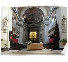 Altar of the Santa Maria Assunta - Palermo Cathedral  Poster