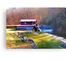 Skeenah Creek Mill Metal Print