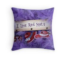 Red Hat Collection 5 Throw Pillow