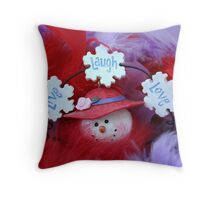 Red Hat Collection 6 Throw Pillow