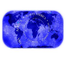 The seven Continents Photographic Print