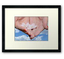 Heavenly Blossoms Framed Print