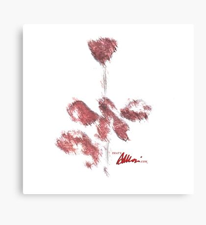 Blurred Violator Canvas Print