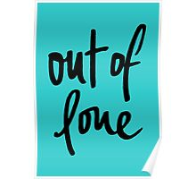 Out of Love. Poster