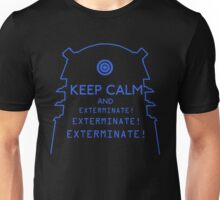 Keep Calm EXTERMINATE Unisex T-Shirt