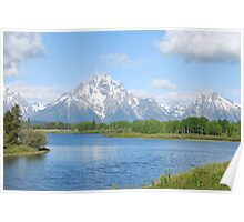 Grand Teton Mountains Poster