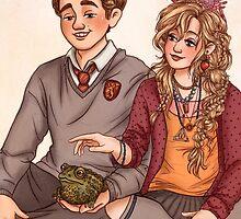 Neville and Luna by susannesart