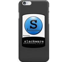Powered By SlackWare ! iPhone Case/Skin