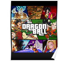 Dragonball GTA Style Fan Made Poster