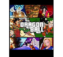 Dragonball GTA Style Fan Made Photographic Print